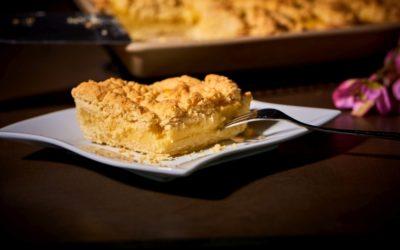Puddingstreusel Kuchen