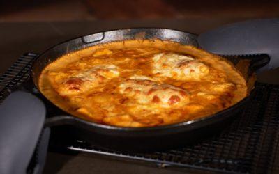 Hähnchenbrustfilet in fruchtiger Currysauce