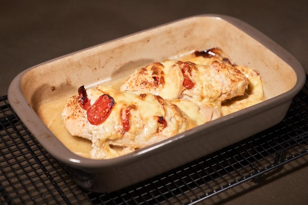 Tomaten Mozzarella Hähnchen