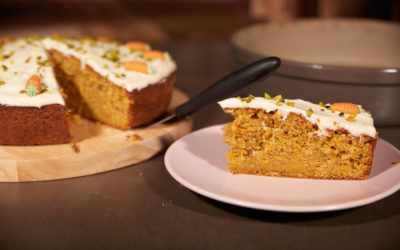 Möhrenkuchen / Karottenkuchen