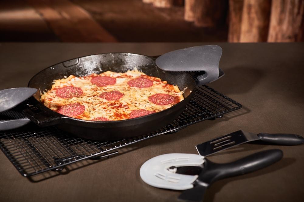 Pfannen Pizza