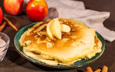 Fluffige Apfelpfannkuchen – unsere Liebsten