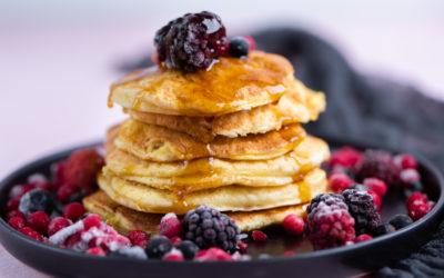Joghurt Pancakes